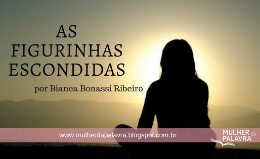 A figurinhas escondidas. por Bianca Bonassi Ribeiro