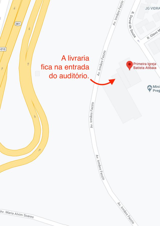 Localização da Livraria
