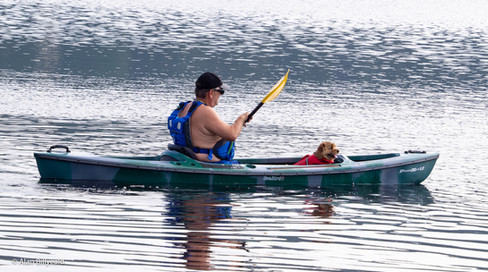Kano Strandefjorden Bobilcamp