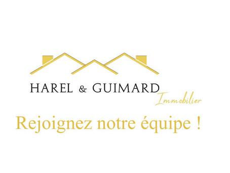 L'agence Harel & Guimard Immobilier recrute un agent commercial H/F sur le secteur Rouennais!