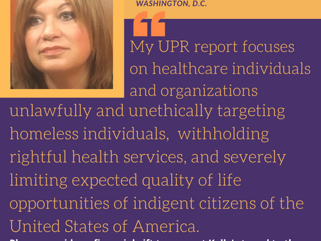 A Closer Look: UPR Activists' Work and Lives