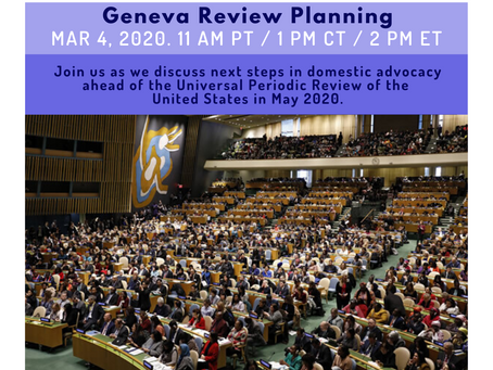 Resources from UPR Webinar Wednesday #10