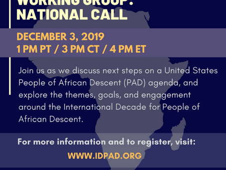 Resources: 12/3 Working Group Call