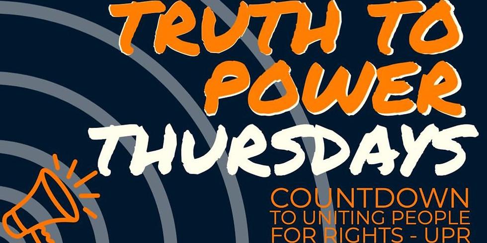 Truth to Power Thursdays: Make the Shift