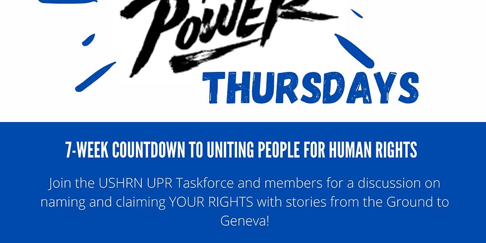 Truth to Power Thursdays