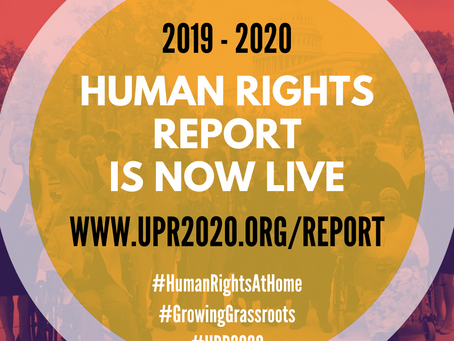 2019 - 2020 Human Rights Report is now LIVE
