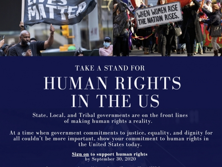 Urge Government, Tribal and Indigenous Leaders to Take a Stand for Human Rights [OUTREACH TEMPLATES]