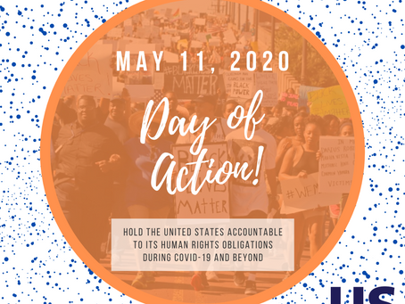 May 11 Day of Advocacy - #HumanRightsAtHome during COVID-19