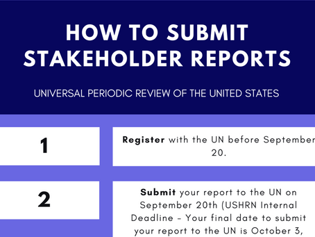 How to Submit a Stakeholder Report