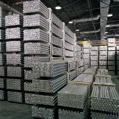 Aluminium bars, staven, rods