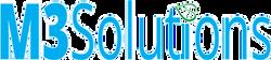 M3SOLUTIONS logo design
