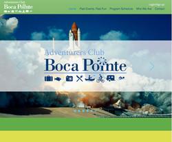 Boca Pointe Adventurers Club Website