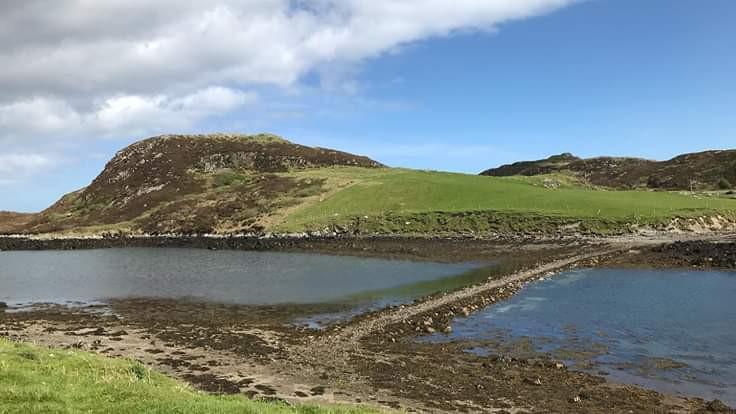 Tidal Causeway to St Colm's Island.jpg
