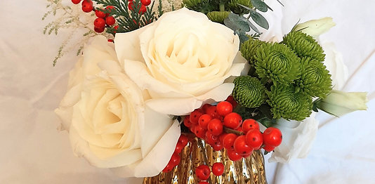 Two Petite Holiday Bouquets