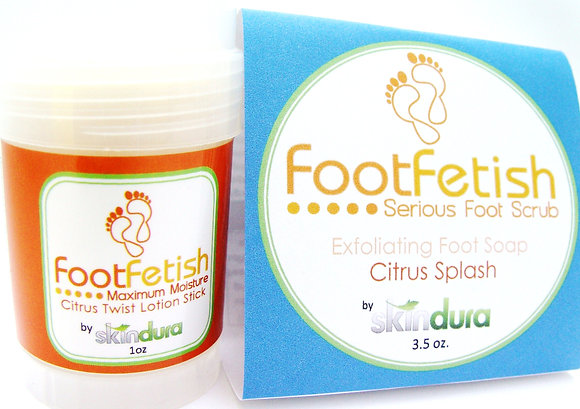 Foot Fetish Soap and Lotion Combo Kit