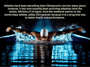 Swimming and Adjustments