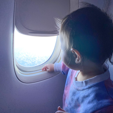 TIPS FOR FLYING WITH A ONE YEAR OLD