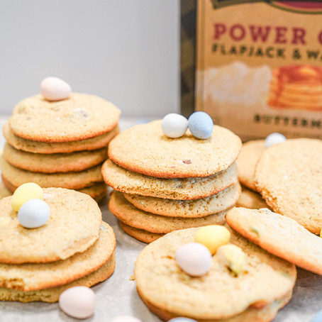 CADBURY EGG COOKIES (KODIAK CAKES)