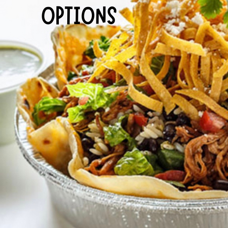 HOW TO ORDER MACRO FRIENDLY AT CAFE RIO
