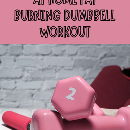 3 DAY FAT BURNING AT HOME DUMBBELL WORKOUT