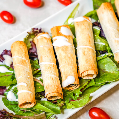 AIR FRYER SOUTHWEST CHICKEN TAQUITOS