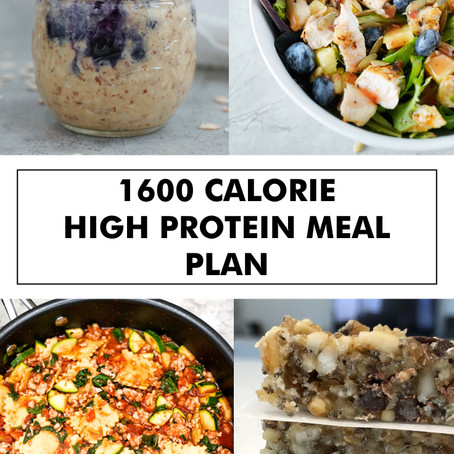 1600 CALORIE HIGH PROTEIN MEAL PLAN