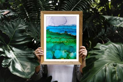 Beach Vibes Original Artwork