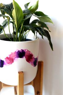 Violet Plant Pot