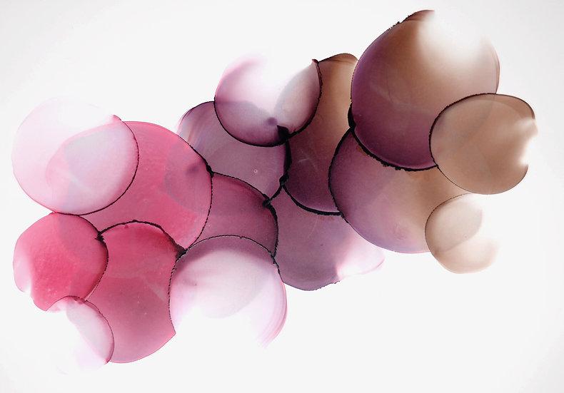 Choc Raspberry Sundae - Original Artwork - A3
