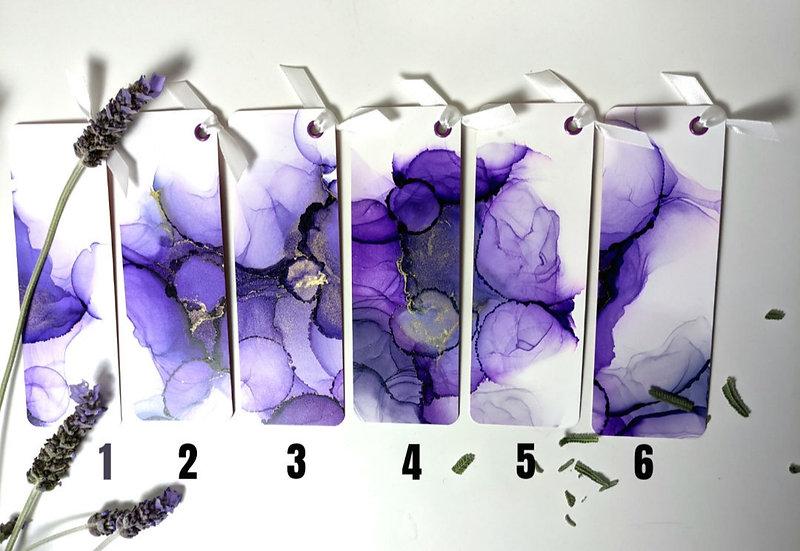Bookmarks - Lavender