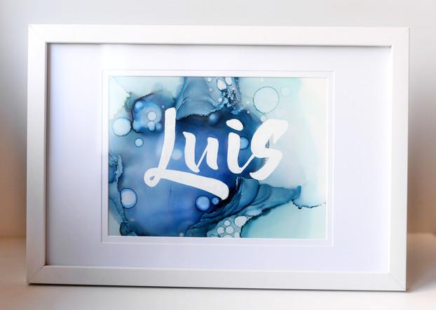 Luis Custom Artwork