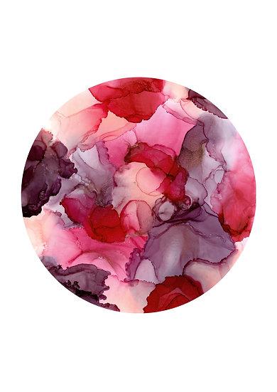 Rose {Circle Design} - Fine Art Print