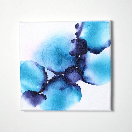 Island Storm - Original Artwork - 20x20cm