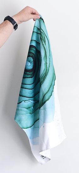 Winter Rose - Tea Towel