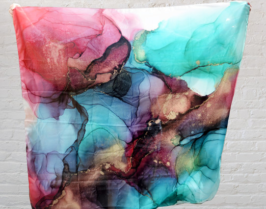 Luxe Silk Scarf