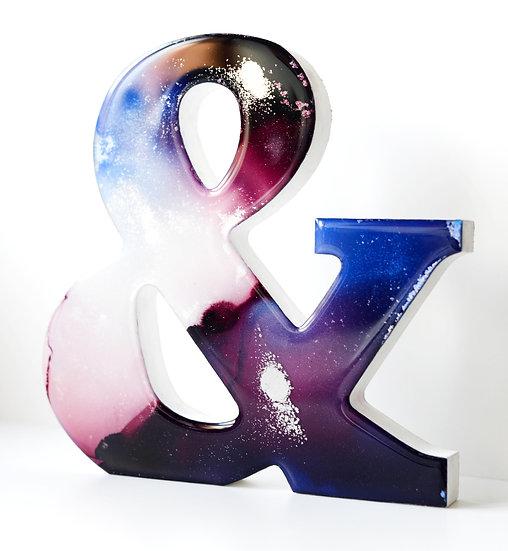& - Large Resin Symbol