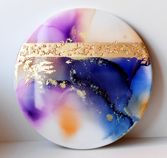 Golden Rain - Original Artwork - 30cm
