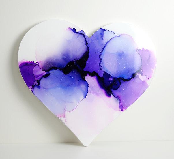 Violet Love - Original Heartwork