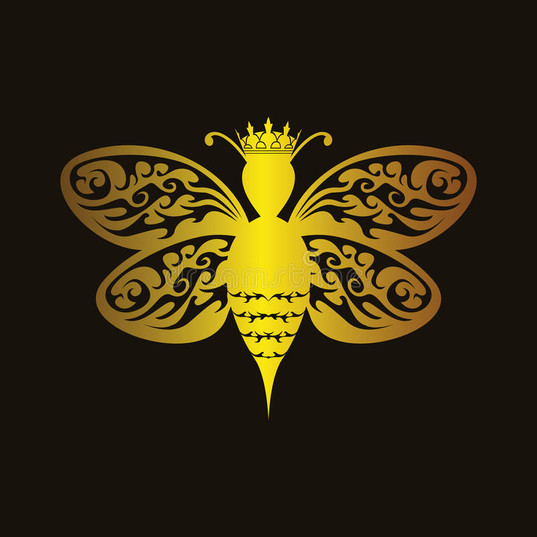 luxury-queen-bee-elegant-illustration-88