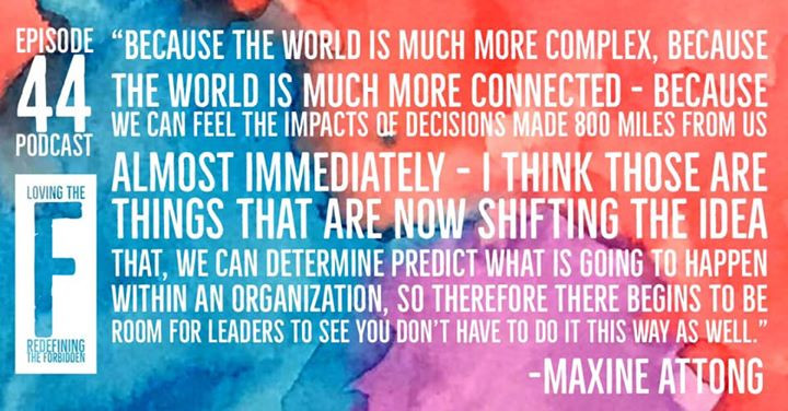 It's all about leadership with Maxine At