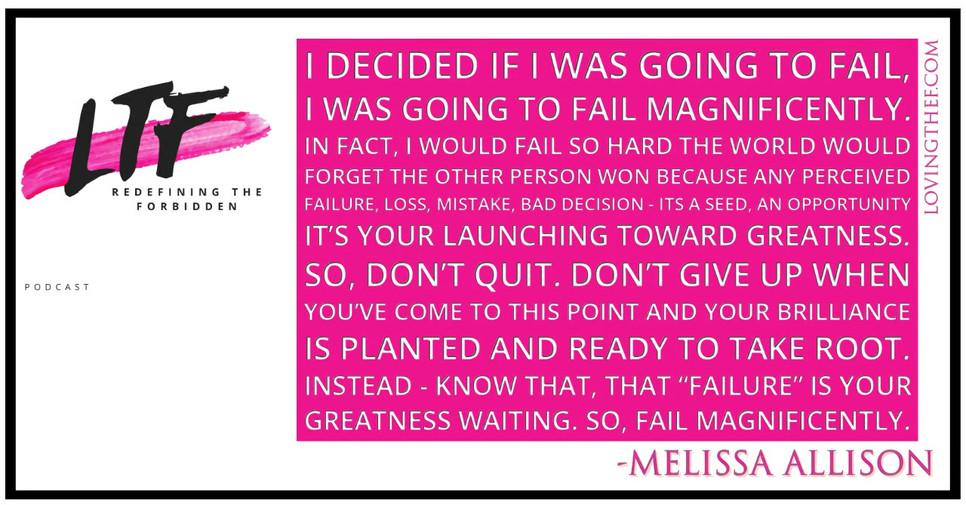 Loving the F - Melissa Allison