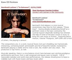 Bass Musician Mag 2009