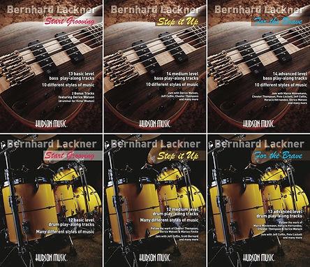 Bass play-alongs Drum play-alongs