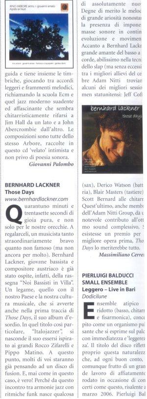 Chitarre Magazine 2006