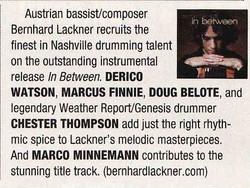 ´Modern Drummer Magazine 2010