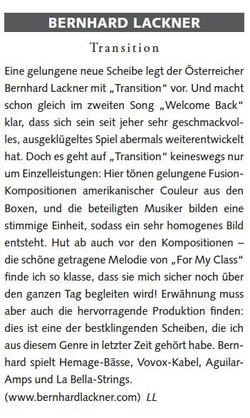 Bassprofessor Mag 2011