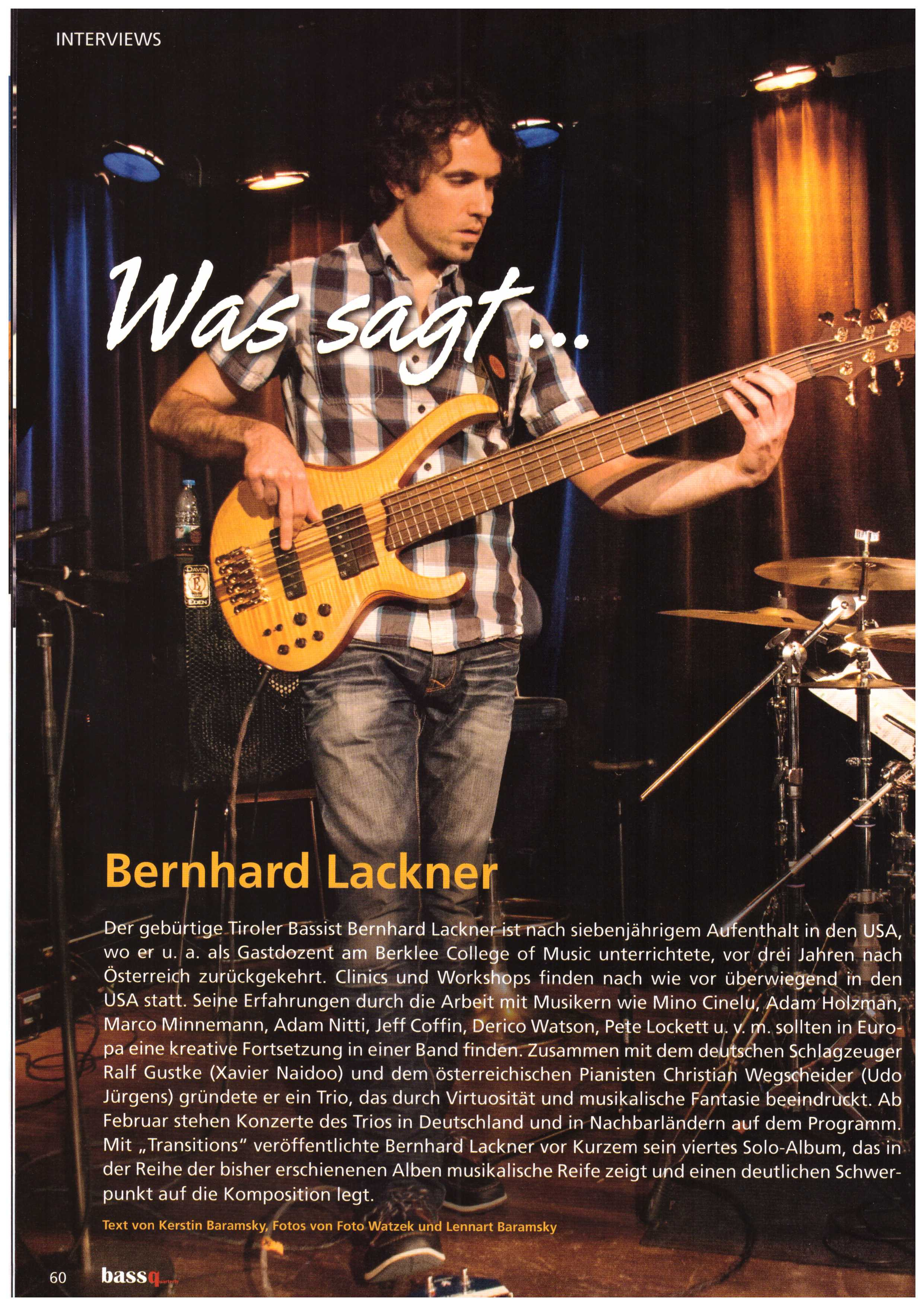 bass quarterly 2015