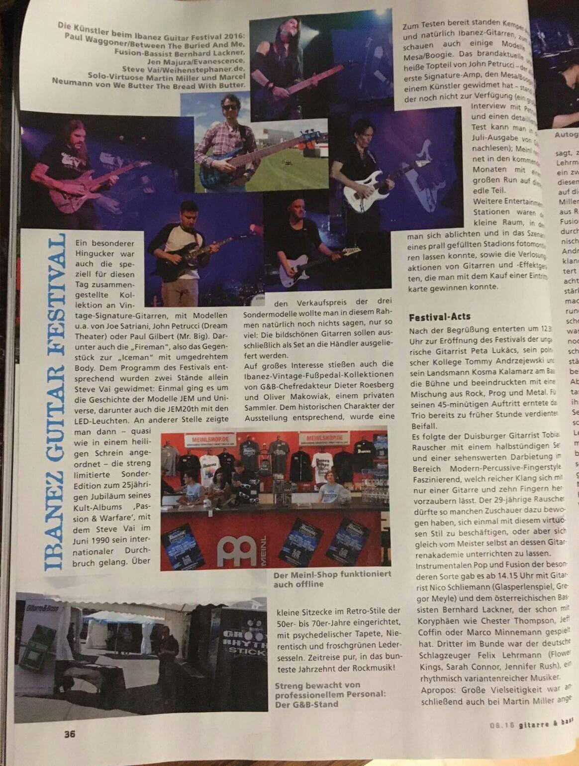 Ibanez Guitar Festival