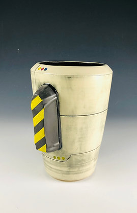 "Shuttle Vase with  ""PowerPak"""