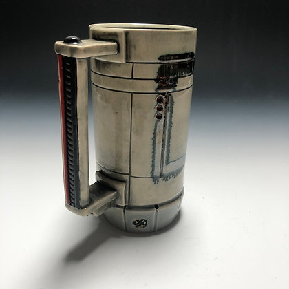 Metalic Melt Thruster Stein